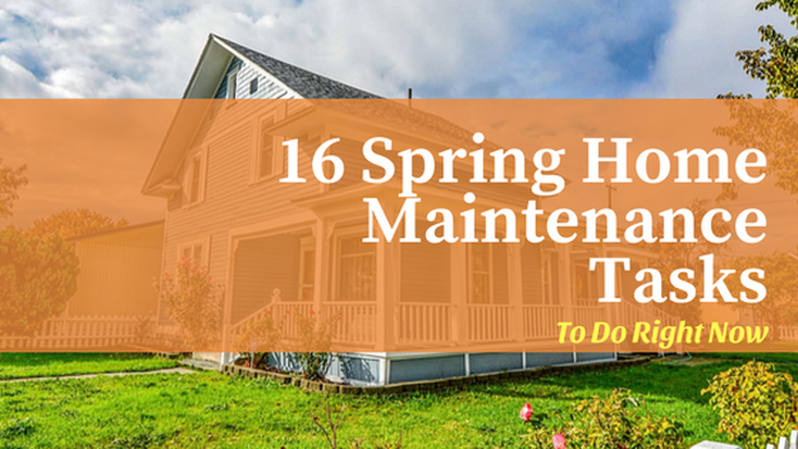 Easy Spring Home Maintenance Tasks